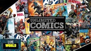 ¿Cómo hace los cómics Unlimited Cómics?