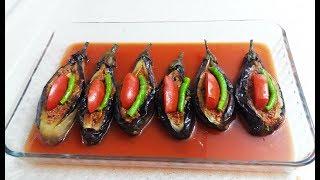 Fırında Karnıyarık Nasıl Yapılır-Lezzetli Patlıcan Yemekleri