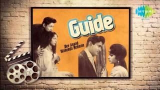 Kya Se Kya Ho Gaya Bewafa - Mohammed Rafi - Dev Anand - Waheeda Rehman - Guide 1965