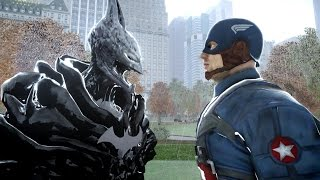 CAPTAIN AMERICA VS BATMAN (Worst Nightmare)