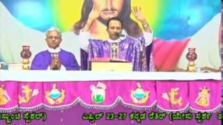 Holy Eucharist celebrated by Fr.Anil Fernandes at DCC Mulki on 08-04-2017