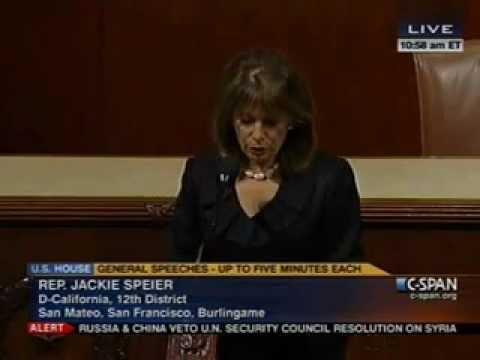 Military Rape Speech 23 - 7-19-12 - Congress Needs to Act.