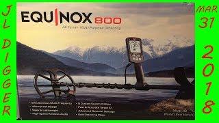 "Minelab Equinox 800  ""TRIME TIME"" metal detecting 2018"