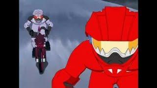 Idaten Jump Episode 31-Decisive Battle! Flame Kaiser VS  Bloody Fang