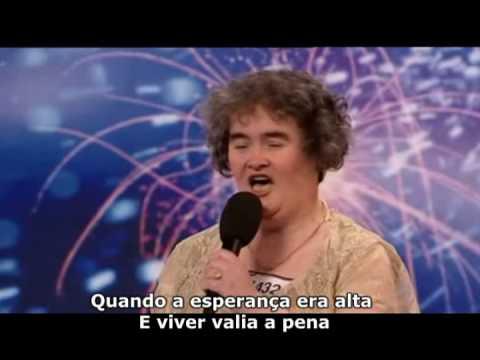 Susan Boyle Britains s Got Talent Legendado PT BR