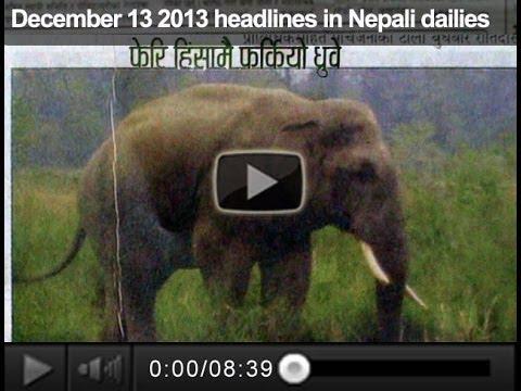 Xxx Mp4 December 13 2013 Headlines In Nepali Dailies 3gp Sex