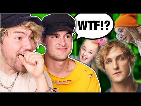 REACTING TO YOUTUBERS WE DON T WATCH 2