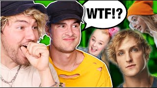 REACTING TO YOUTUBERS WE DON