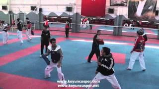 Ankara Buyuksehir Bld. Taekwondo Antremanı 2012