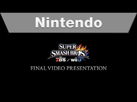 Super Smash Bros. for Nintendo 3DS and Wii U Final Video Presentation