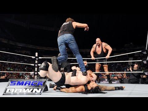 Roman Reigns & Dean Ambrose vs. Sheamus & Big Show: SmackDown, July 16, 2015