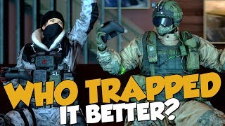 WHO TRAPPED IT BETTER? - Rainbow Six Siege Funny Moments