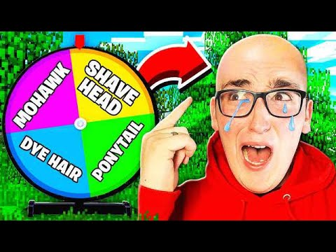 Spin the MYSTERY WHEEL Challenge EXTREME EDITION