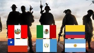Las 10 Fuerzas Especiales mas Letales de Latinoamerica (2017)