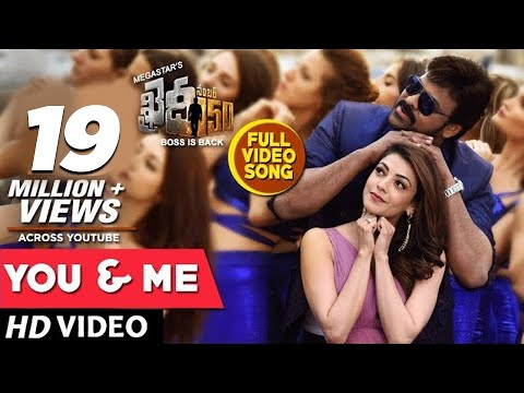 Xxx Mp4 You And Me Full Video Song Khaidi No 150 Full Video Songs Chiranjeevi Kajal Aggarwal DSP 3gp Sex