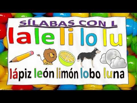 SÍLABAS PARA NIÑOS CON MÚSICA CON M P S L N D F T y B. SYLLABLES FOR KIDS