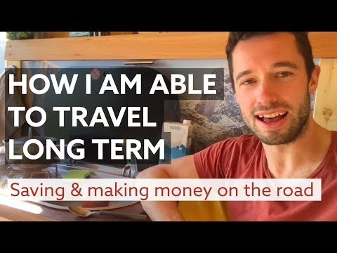 How I can afford to travel long term