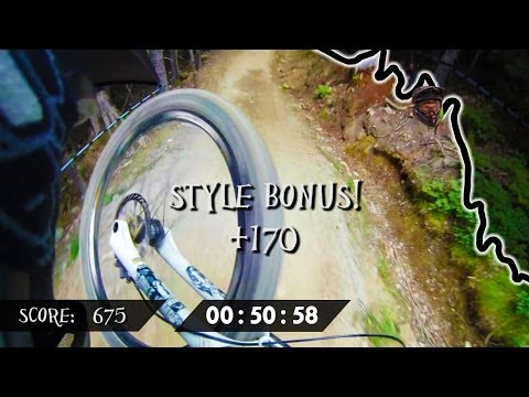 Downhill Domination In Real Life - AIR DH - Jordan (Boostmaster) Olthuis, Crankworx Whistler 2013!