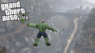 GTA 5 Mods - Hulk vs Gravity