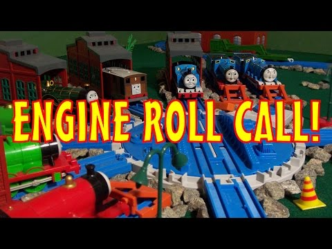 TOMICA Thomas & Friends Music Video Engine Roll Call with Sing A Long Lyrics
