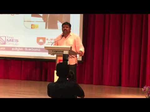 Xxx Mp4 Neeya Naana Gobinath Speech Singapore Tamil Language Festival 2016 Part 1 3gp Sex