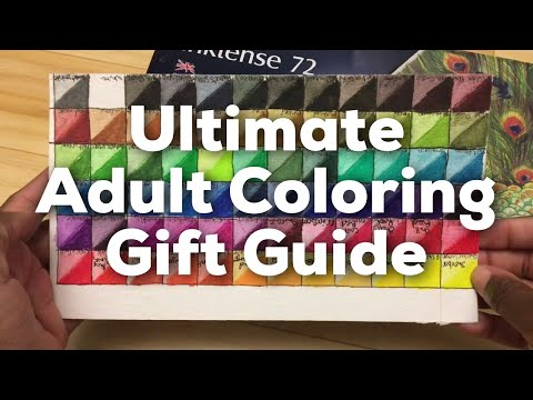 Xxx Mp4 Ultimate Holiday Gift Guide For Adult Coloring And Colored Pencil Artists 3gp Sex