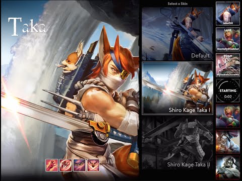 Vainglory Lets Play Taka Solo Queue Gameplay
