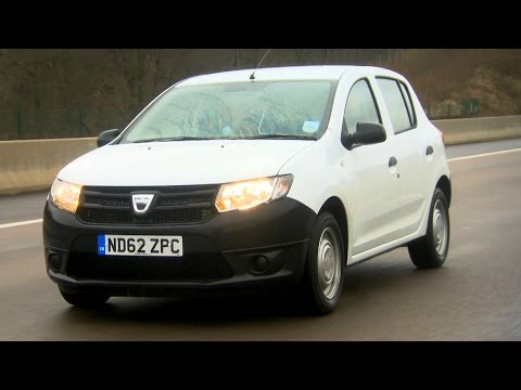 Trying The Cheapest Car In Europe The Dacia Sandero Fifth Gear