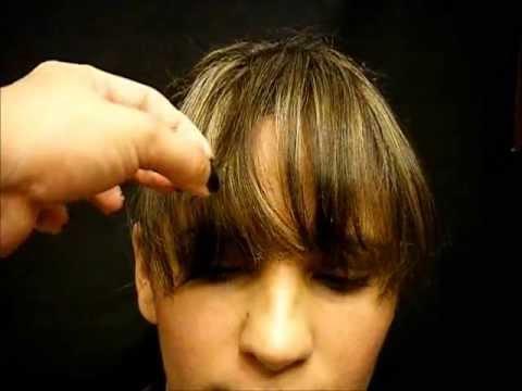 COMO CORTAR EL FLEQUILLO PARA TODO TIPO DE ROSTROS How to cut bangs