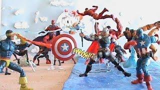 A.C.B.A.  Avengers vs. X-Men (AvX) Tenacious Ric's 500 Subs Content Entry