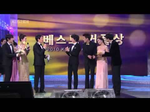 GeunGeunCouple won Best Couple 2010