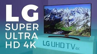 Lançamento da nova linha de TV 4K da LG com tecnologia IPS!!   2017