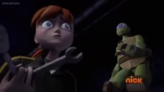April Yells At Donnie - TMNT 2012 (S4/E19)