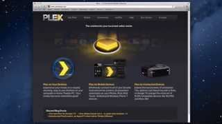 Plex Media Server OS X Part 1: Installation & Set Up