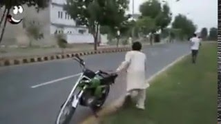 Funny bike Stolen and boys fight LOL :D