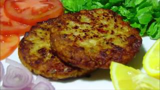 Chicken Chapli Kebab Recipe - Make and Freeze Ramadan Recipes - Lively Cooking Recipes
