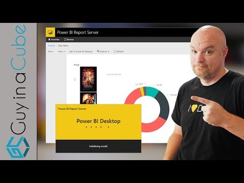 Create Power BI reports in Power BI Report Server