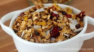 Clean Eating Stovetop Granola