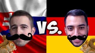 LANGUAGE CHALLENGE: GERMANY VS. SLOVAKIA /W CAN
