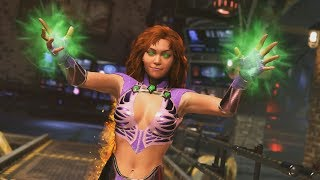 INJUSTICE 2 Starfire Gameplay Trailer & Super Move