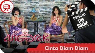 Duo Anggrek - Behind The Scenes Video Klip Cinta Diam Diam - NSTV