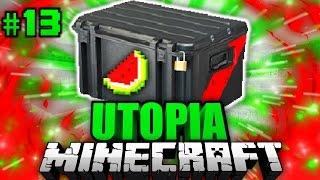 Das LOOT CASE OPENING?! - Minecraft Utopia #013 [Deutsch/HD]