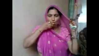 Desi Bhabhi smoking..