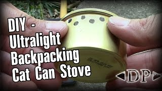 Alcohol Cat Food Stove - DIY Backpacking Stove