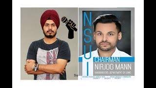 Nirjog Singh Mann   NSUI : Chairman, PU Chd   Exclusive Interview: 2017   CampustvIndia.com