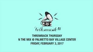 [THROWBACK THURSDAY] Volksmusik DJ at Palmetto Bay Village Center - Friday, February 3, 2017