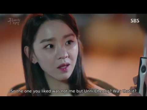 Legend of the Blue Sea - Tae Oh kiss Shi Ah scene