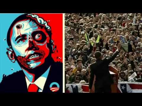 The ANTICHRIST Obama Rises From The Mortal HEAD WOUND