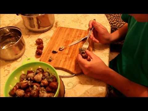 Как готовить улиток дома рецепт с пошагово