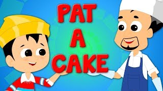 Pat A Cake   Nursery Rhymes For Kids And Babies   Children Rhyme
